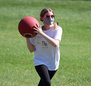Kickball was one of the outdoor activities on Local Lex Day.